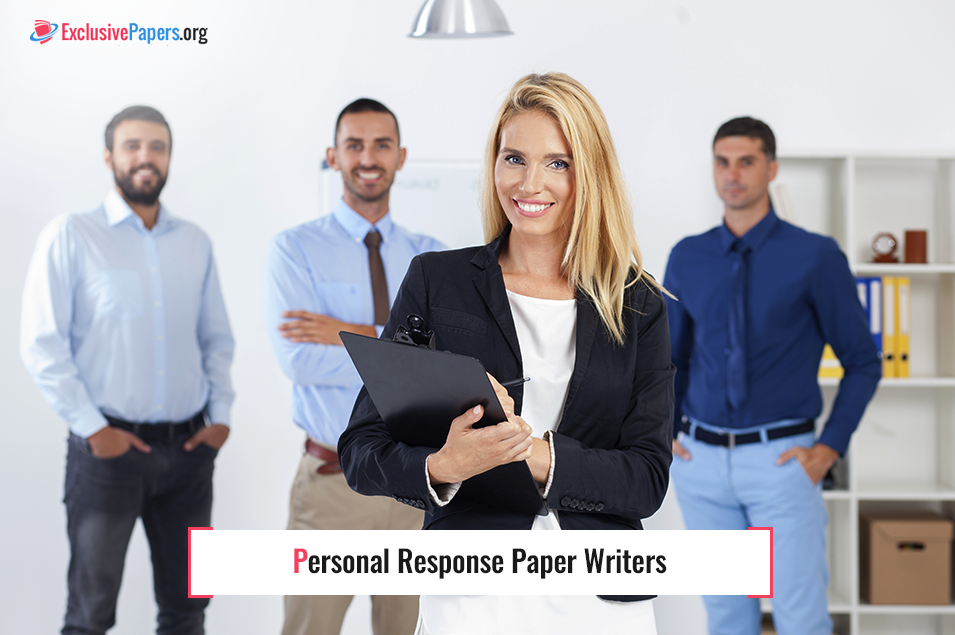 Personal Response Paper Writers