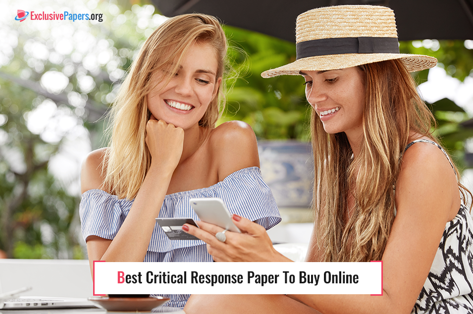Best Critical Response Paper to Buy Online