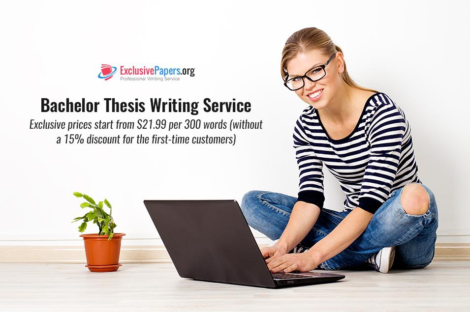 Bachelor Thesis Writing Help from Writers with Ph.D.
