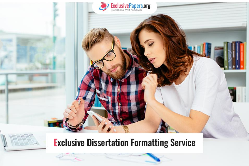 Dissertation Formatting Service That Is Second to None