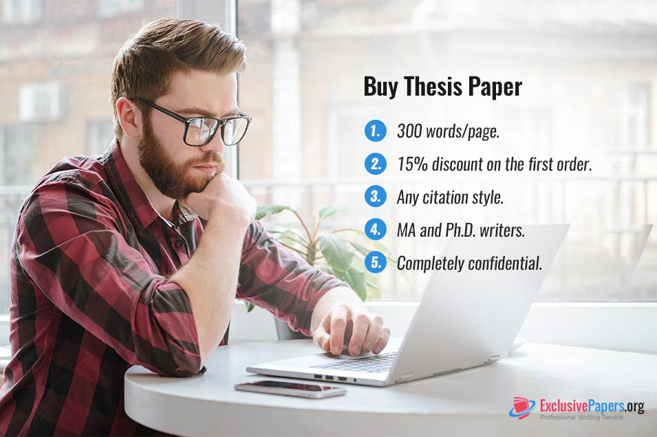 Buy Thesis Paper Help Online at ExclusivePapers