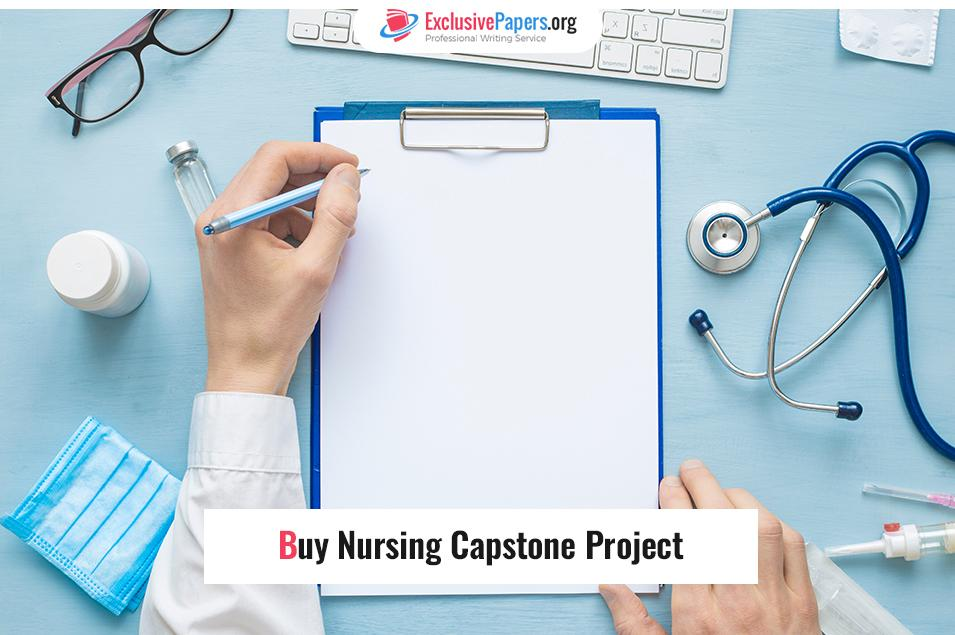 Buy Nursing Capstone Project