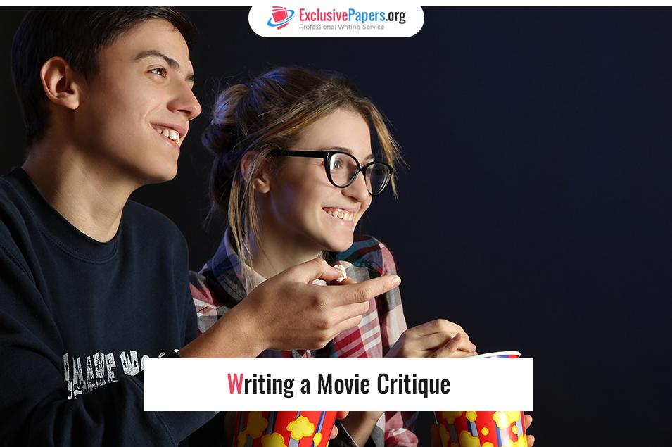 Writing a Movie Critique