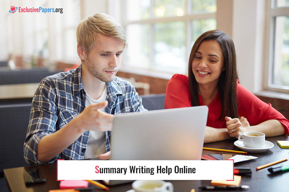 Order Summary Writing Help Online