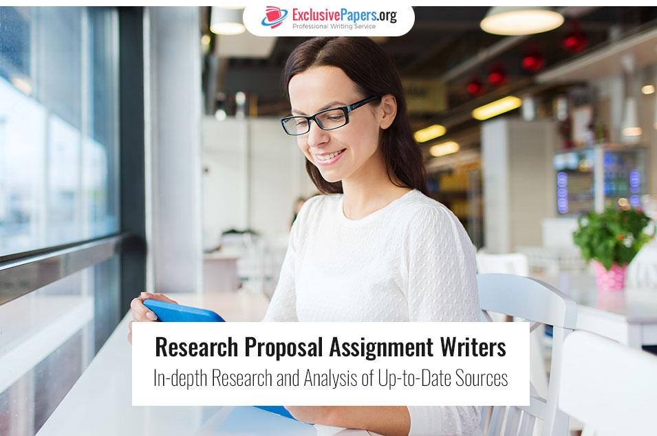 Exclusive Research Proposal Assignment Writers