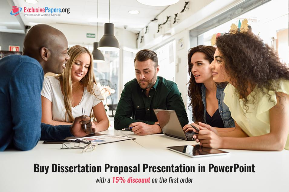 Buy a Dissertation Proposal Presentation in PowerPoint