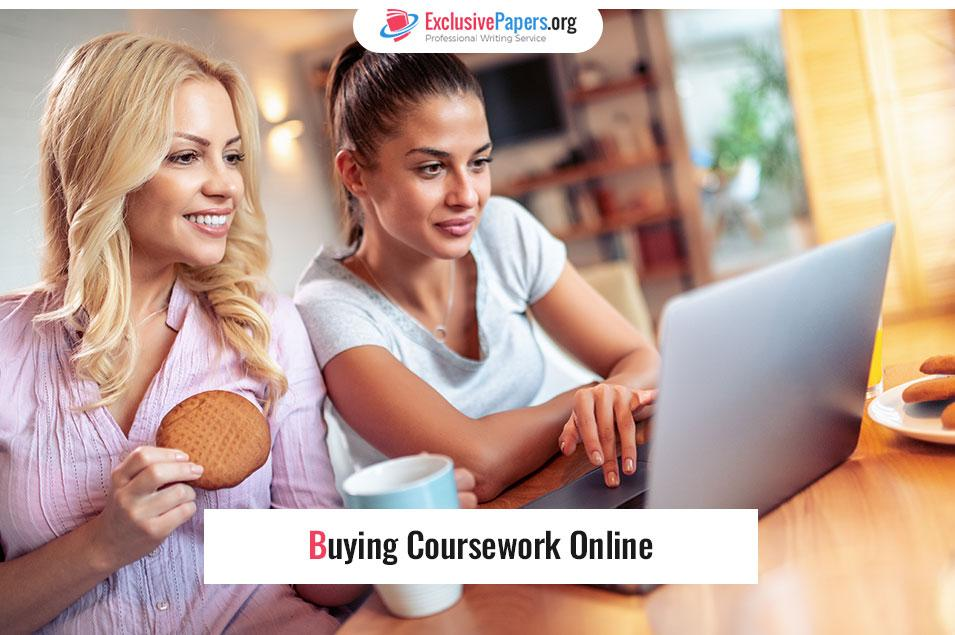 Buying Coursework Online from Exclusive Papers